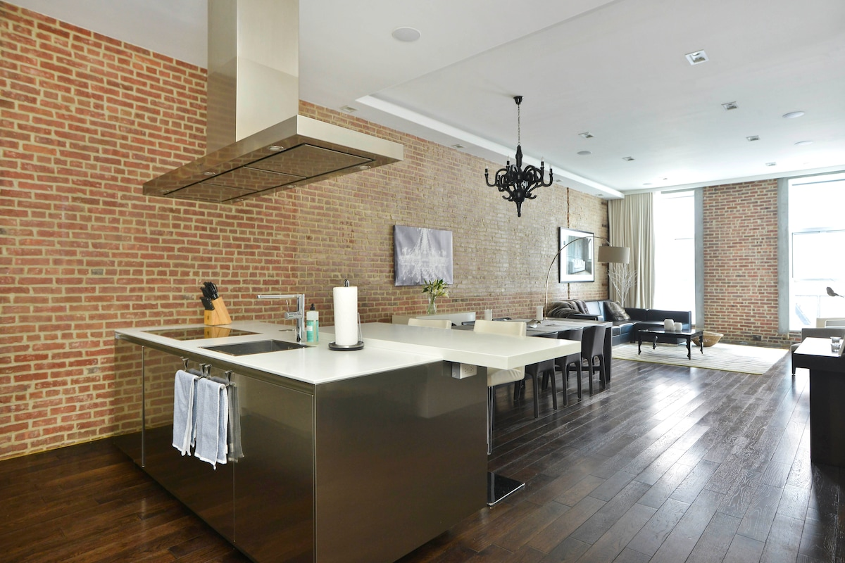 Ultra-Modern TriBeCa/Soho 3br Loft
