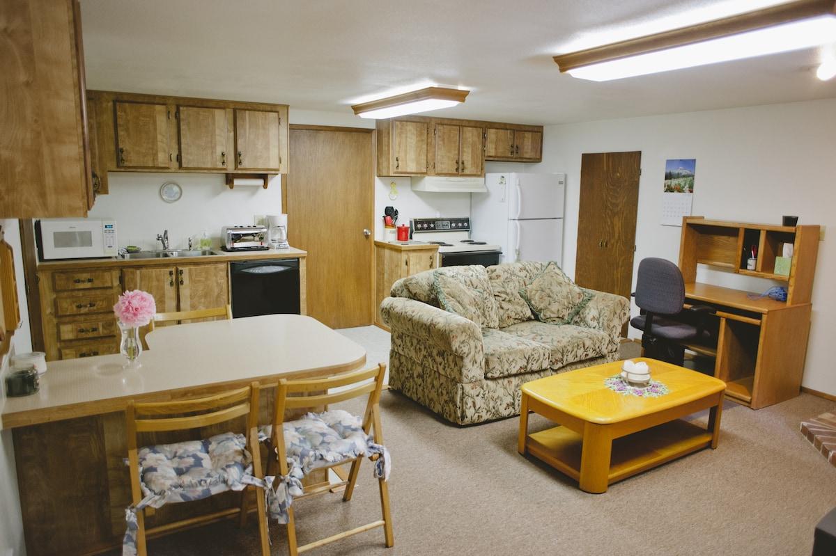 Detached Garage- Upstairs Apartment