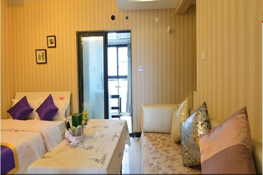 宽窄巷子、锦里 文殊院 温馨豪华家庭套房
