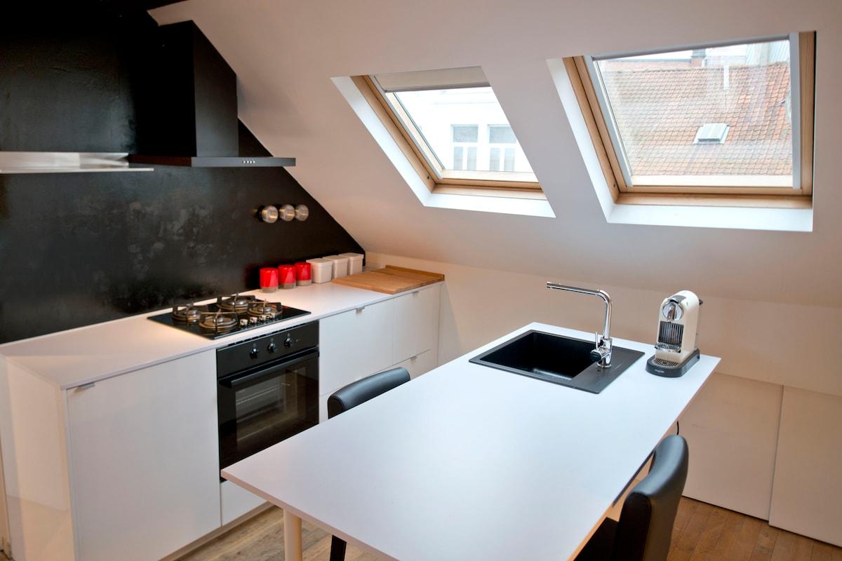 Beautiful flat in Ixelles