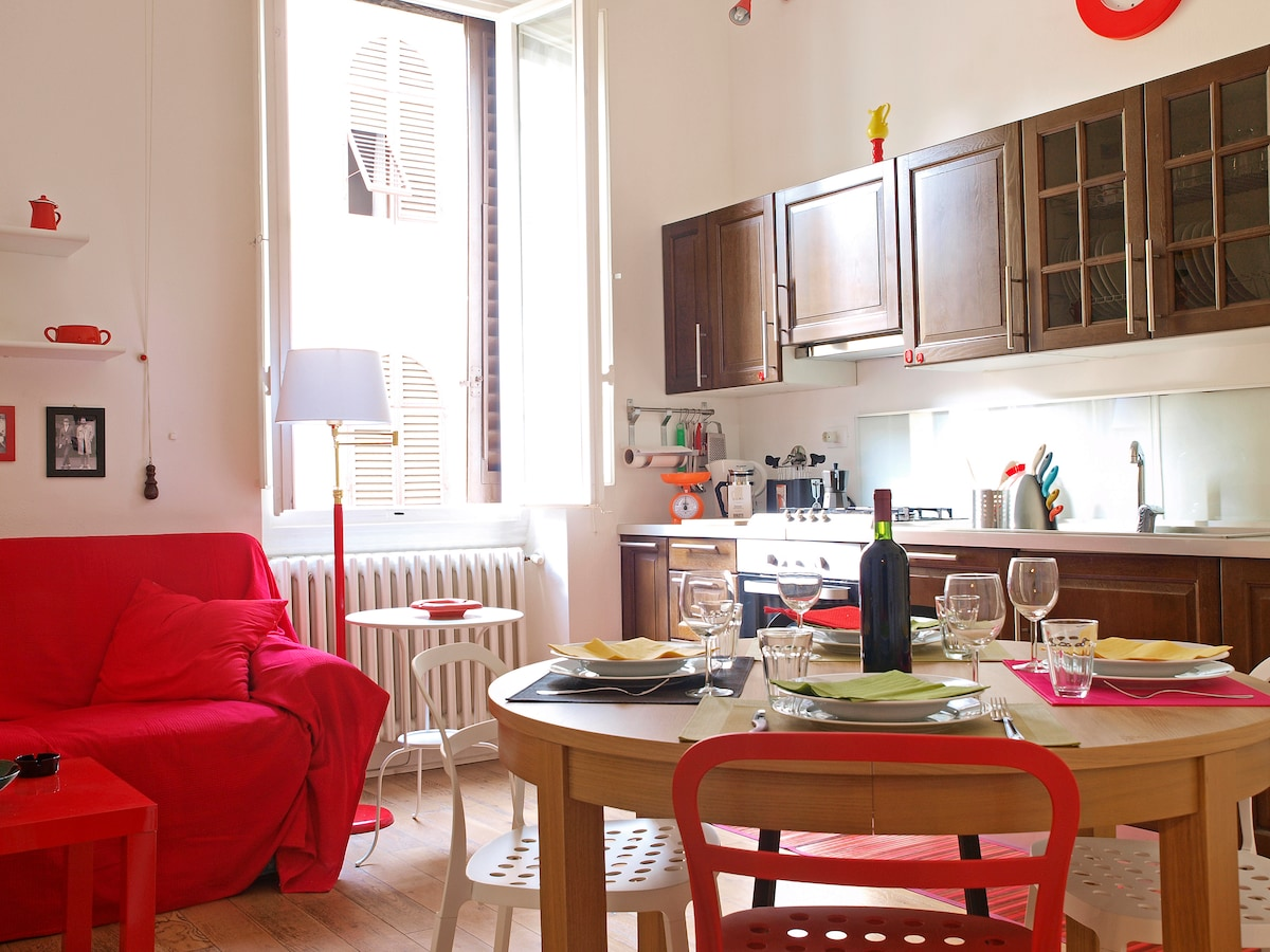 A small apartment in San Zanobi ...