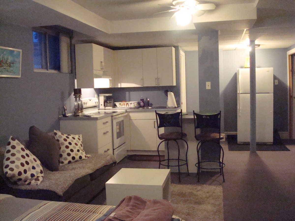 Studio spacieux et confortable