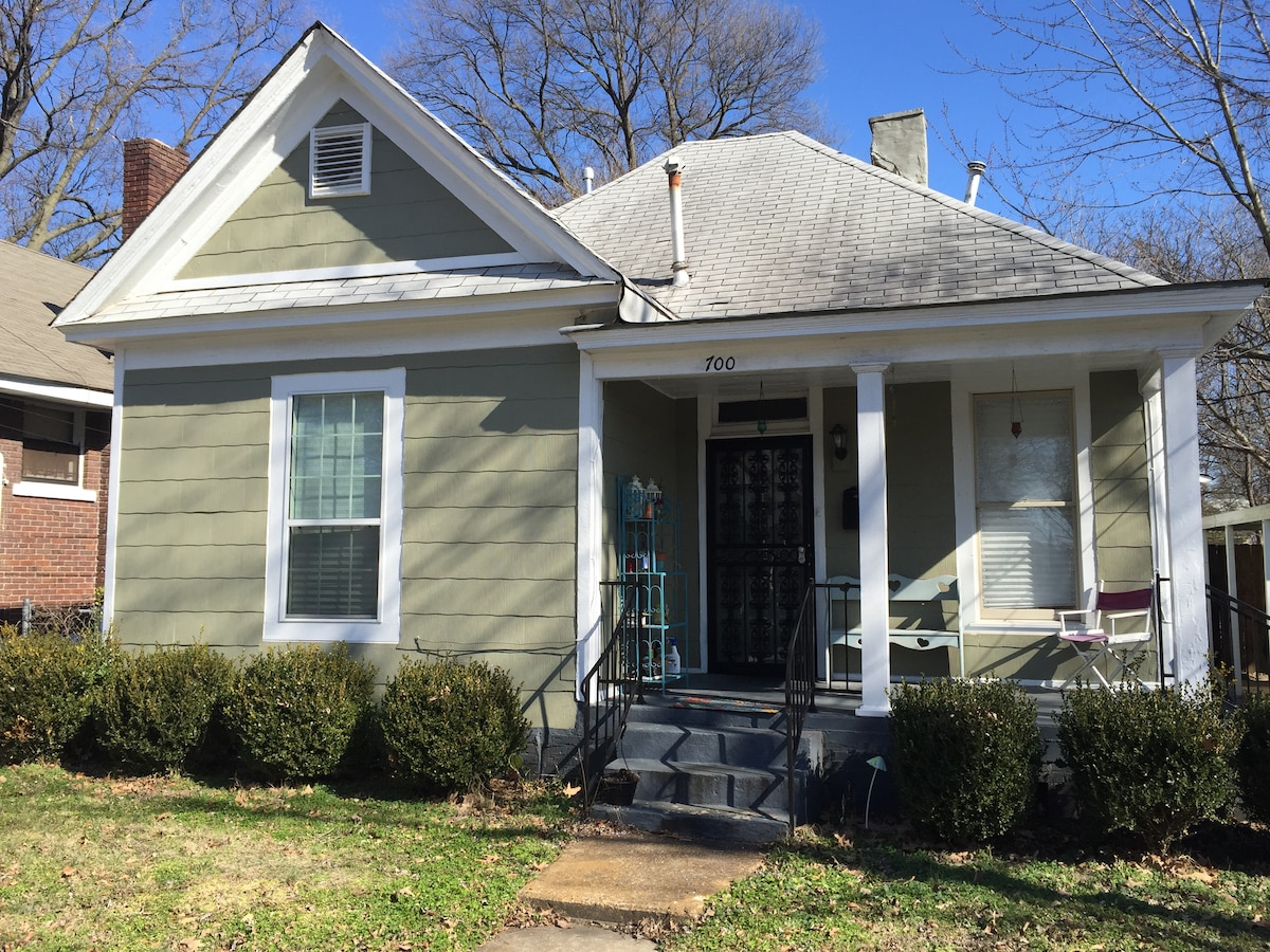 Charming 2 BR 2 BA Midtown House