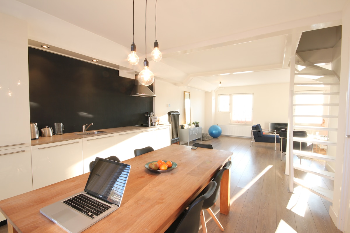 Spacious and bright apartment