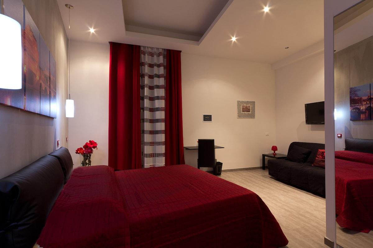 Castel Sant'Angelo Room