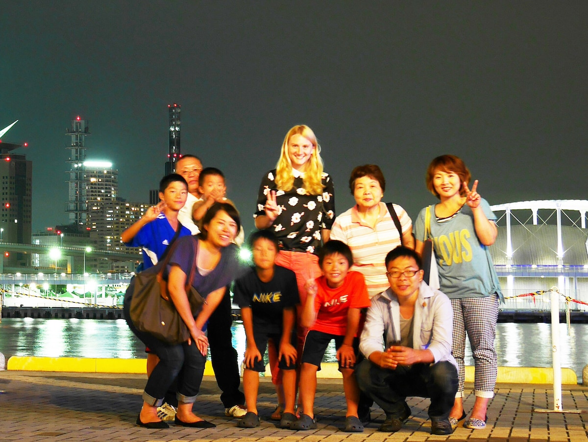 Real Life w/JapaneseBigFamily@Kobe