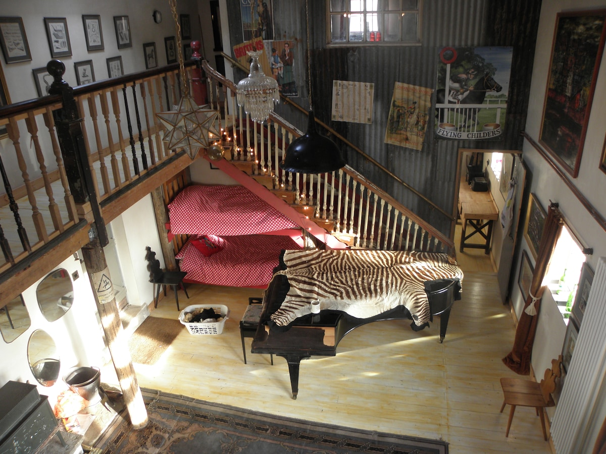 Stunning, whacky self-catering let
