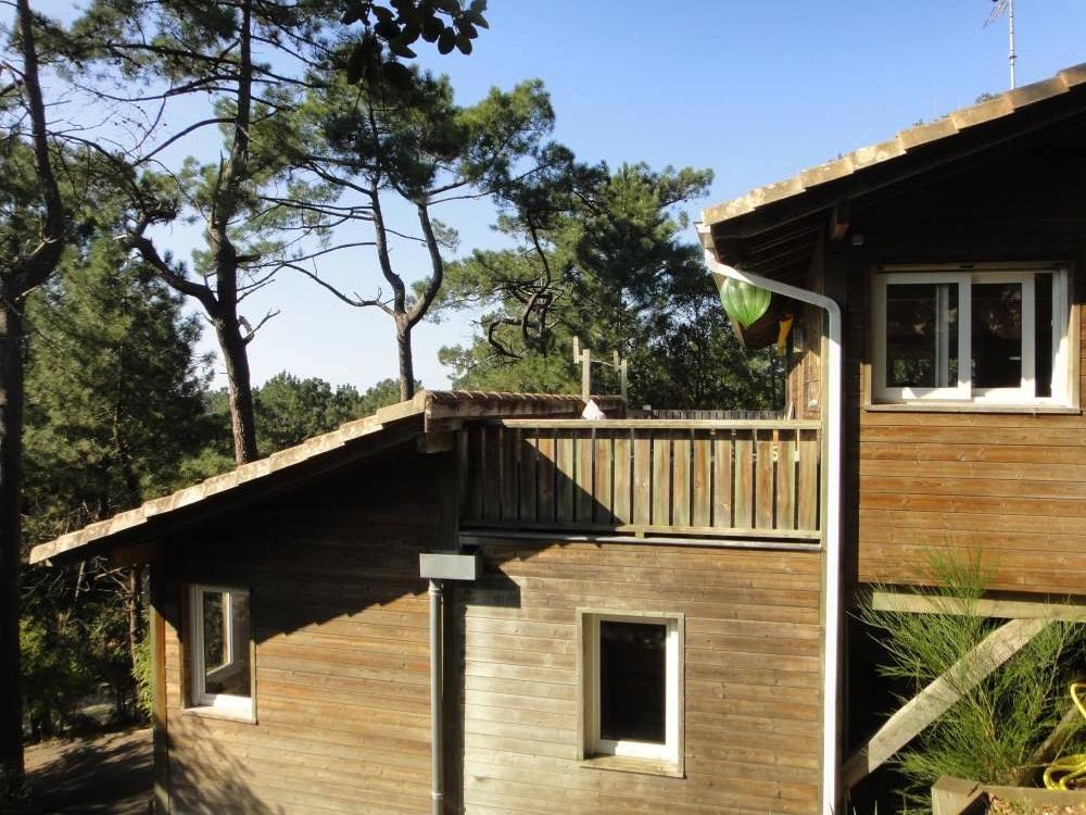 villa à la cime des pins