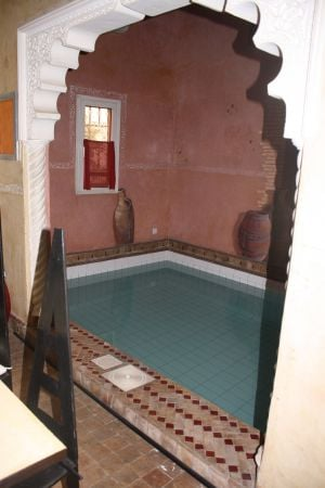 private pool just for guests within the riad