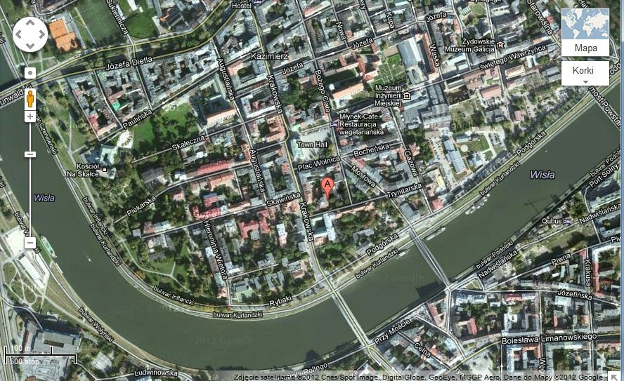 Briliant location in the heart of Kazimierz