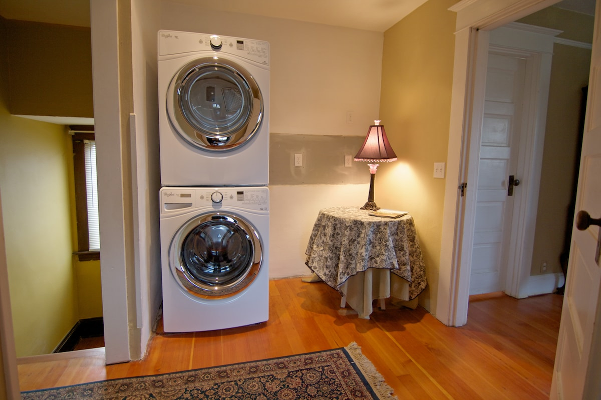 New Laundry facilities and charging station