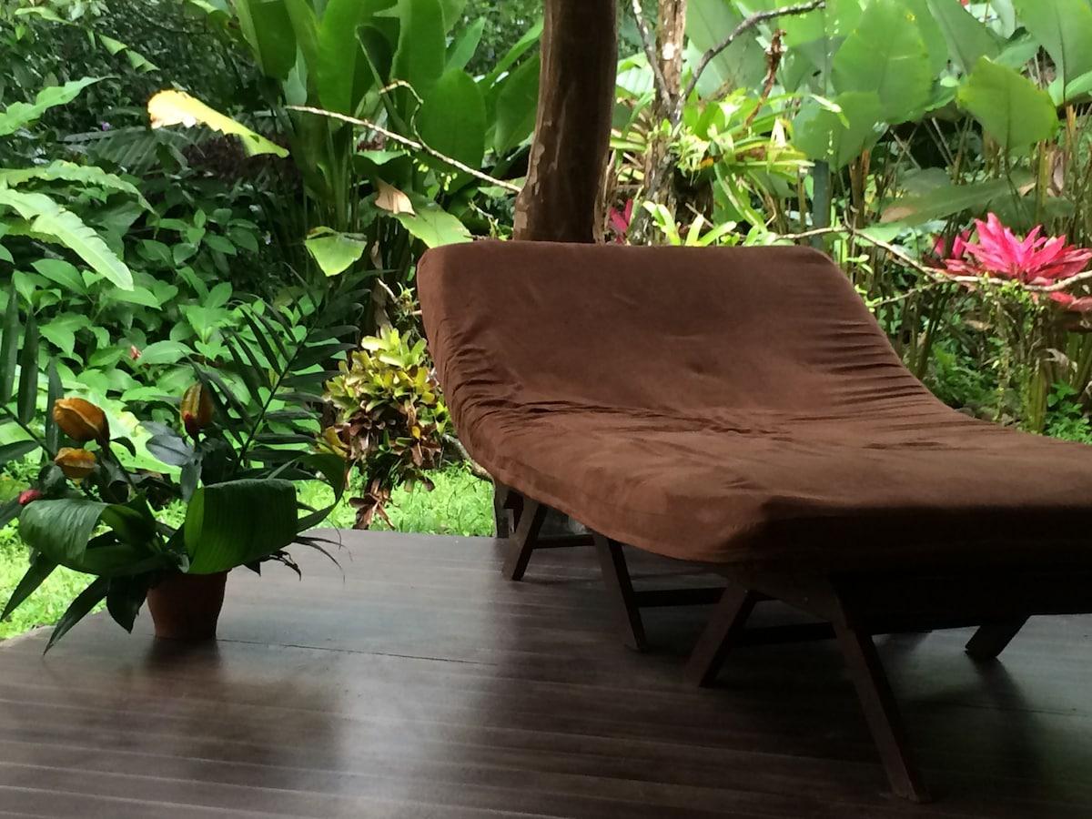 Rainforest & River private room