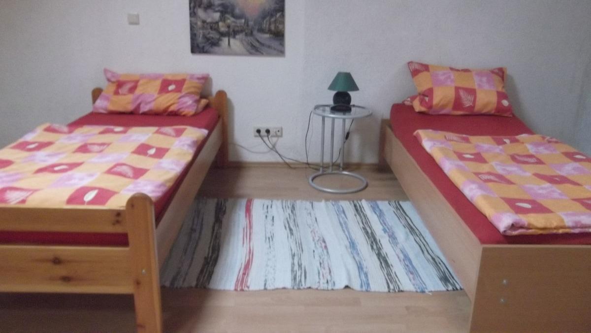 Zimmer für 2 Personen 1. OG