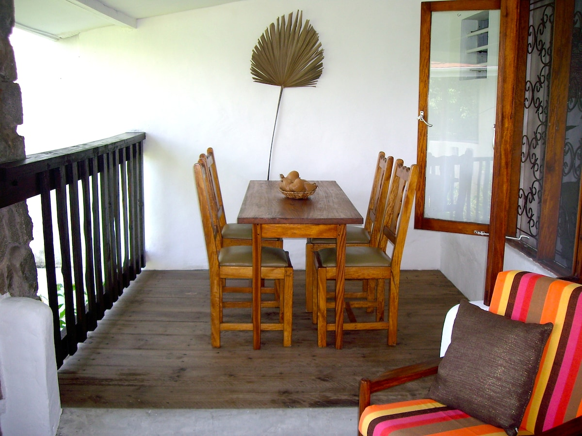 Dining Area on Balcony