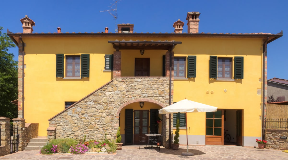 "Relax & Love in Tuscany: ""Cappannelle"" The holiday house in Tuscany"