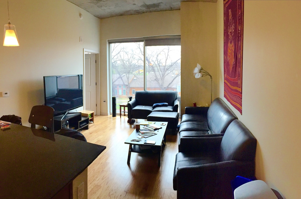 Modern 3Br/3Ba Downtown Apartment