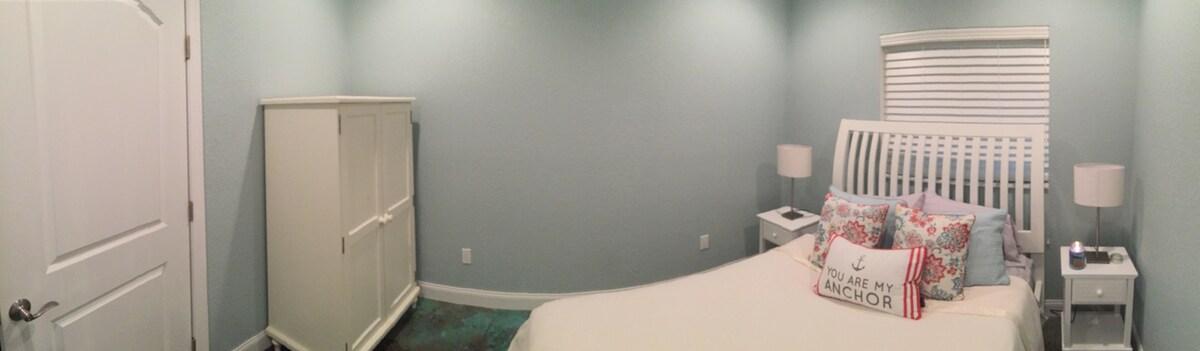 1st floor Bedroom w/ shared bath