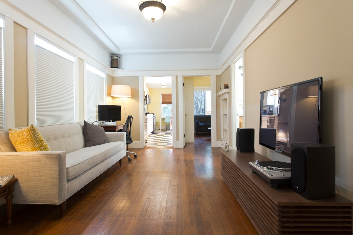 Charming 1BR House in Temescal
