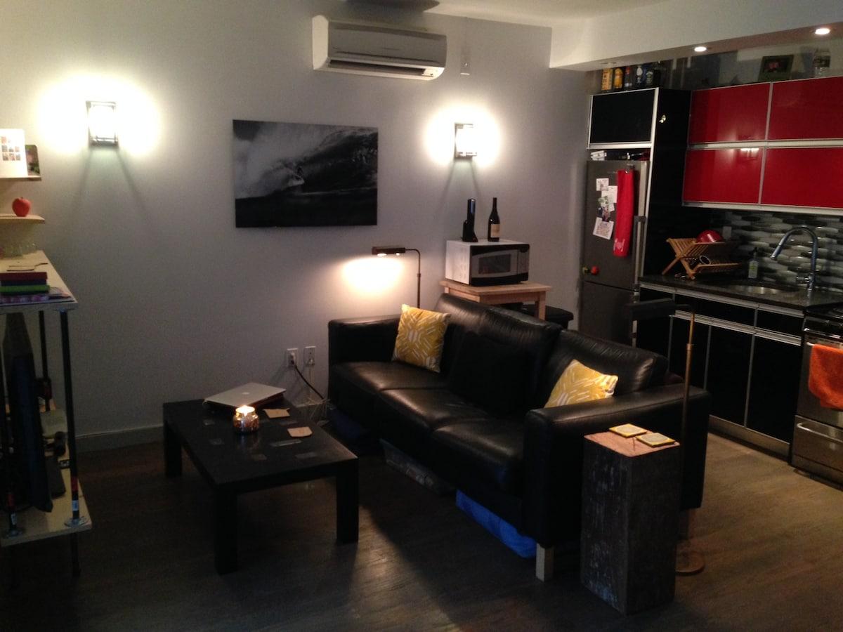Radical Bushwick Bedroom with W/D