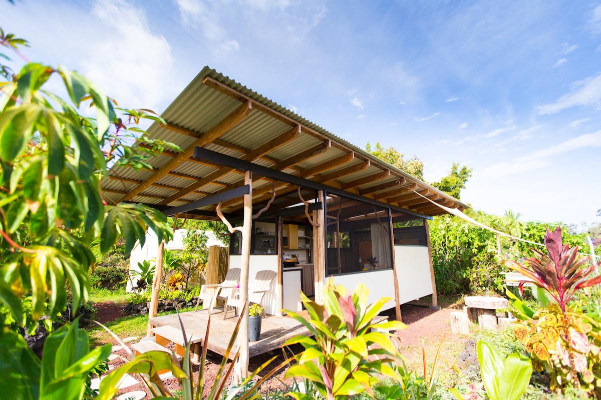 Eco-Farm Tropical Cabin + Clubhouse