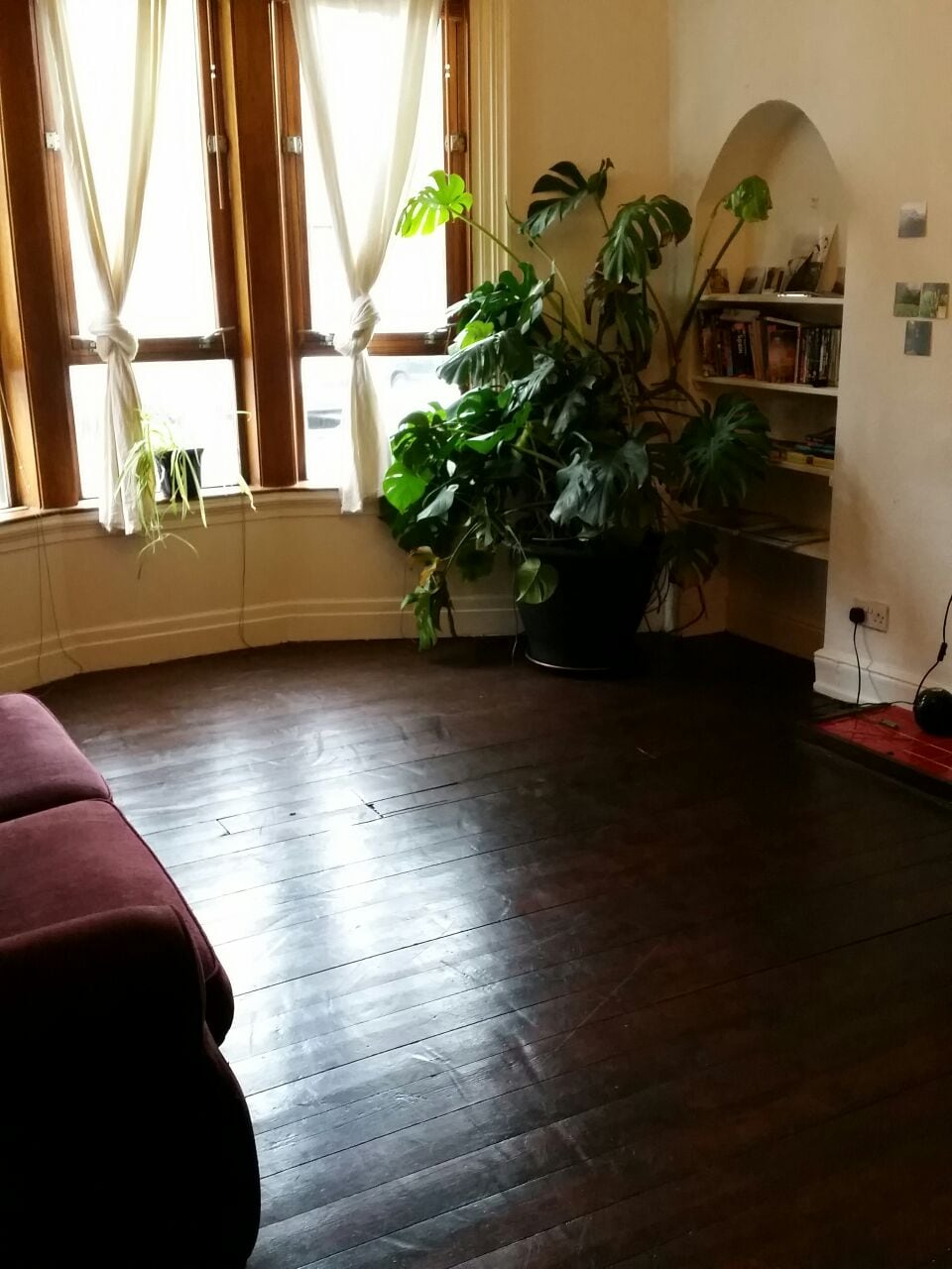 entire traditional 1 bed flat