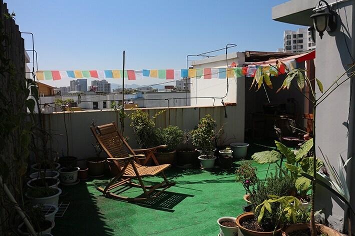 Feel at home in Kunming! Roofgarden