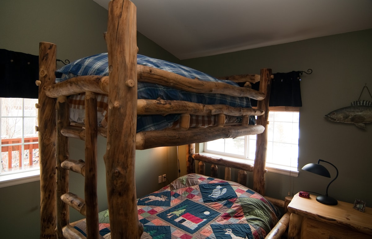 Captains Bunk. Full Size Bottom - Twin on Top