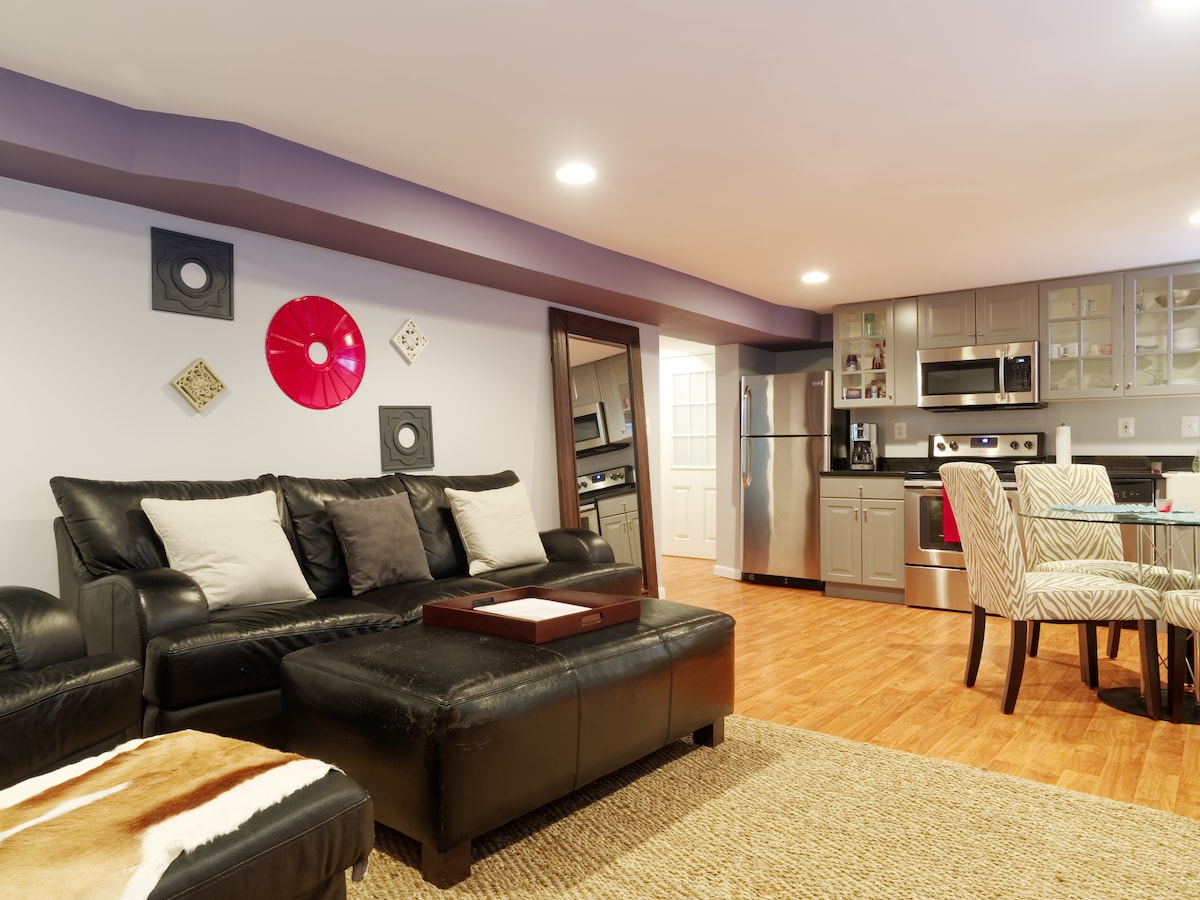 Newly Renovated Apt- Close to DC