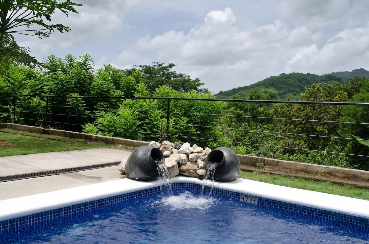 Poolfront Apt Tranquil Farmstay B&B