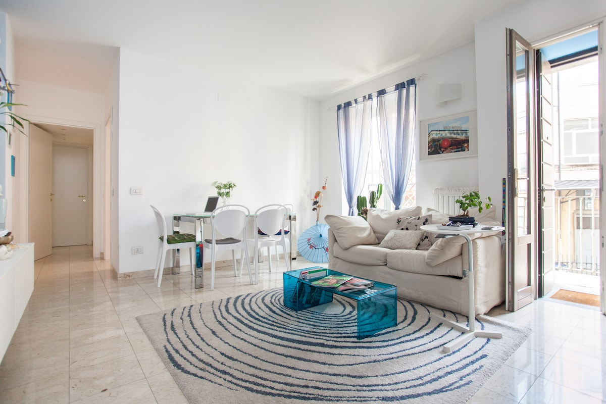 A nice living room in Milan's heart
