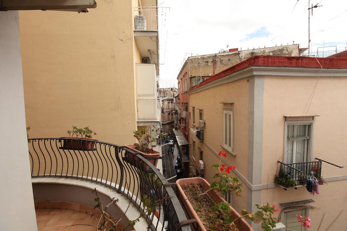 "a weekend of ""Erasmus"" in Spanish Naples"