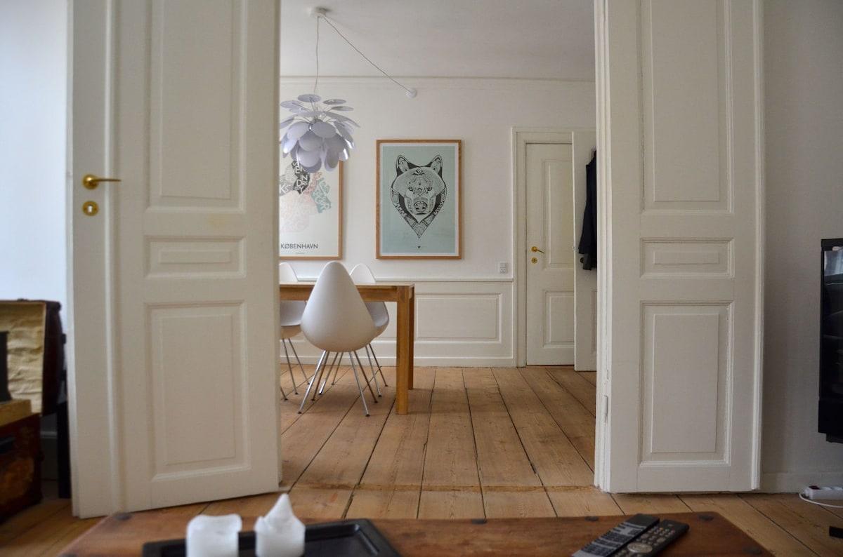 75 m2, 3 rooms, city centre apt.