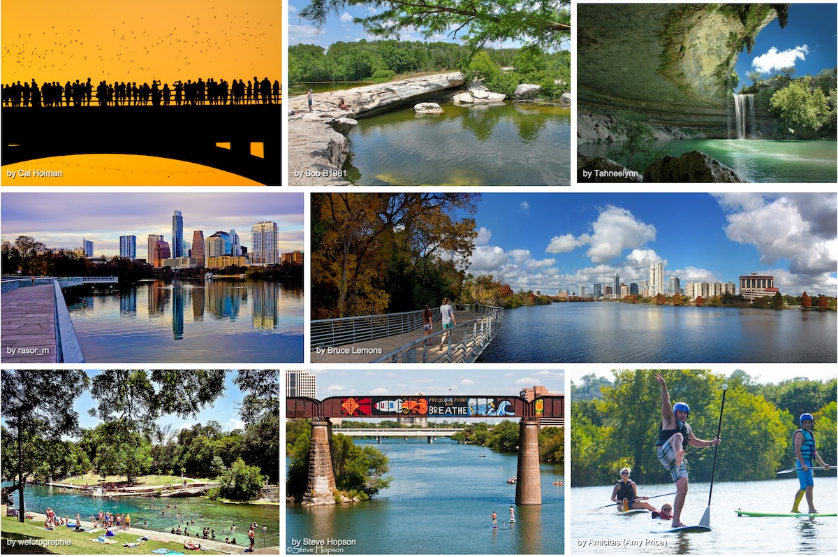 The outdoors of Austin!