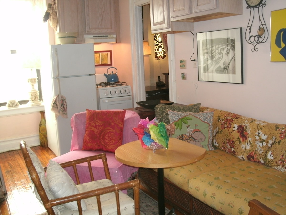 Our NY home, Greenwich Village apt