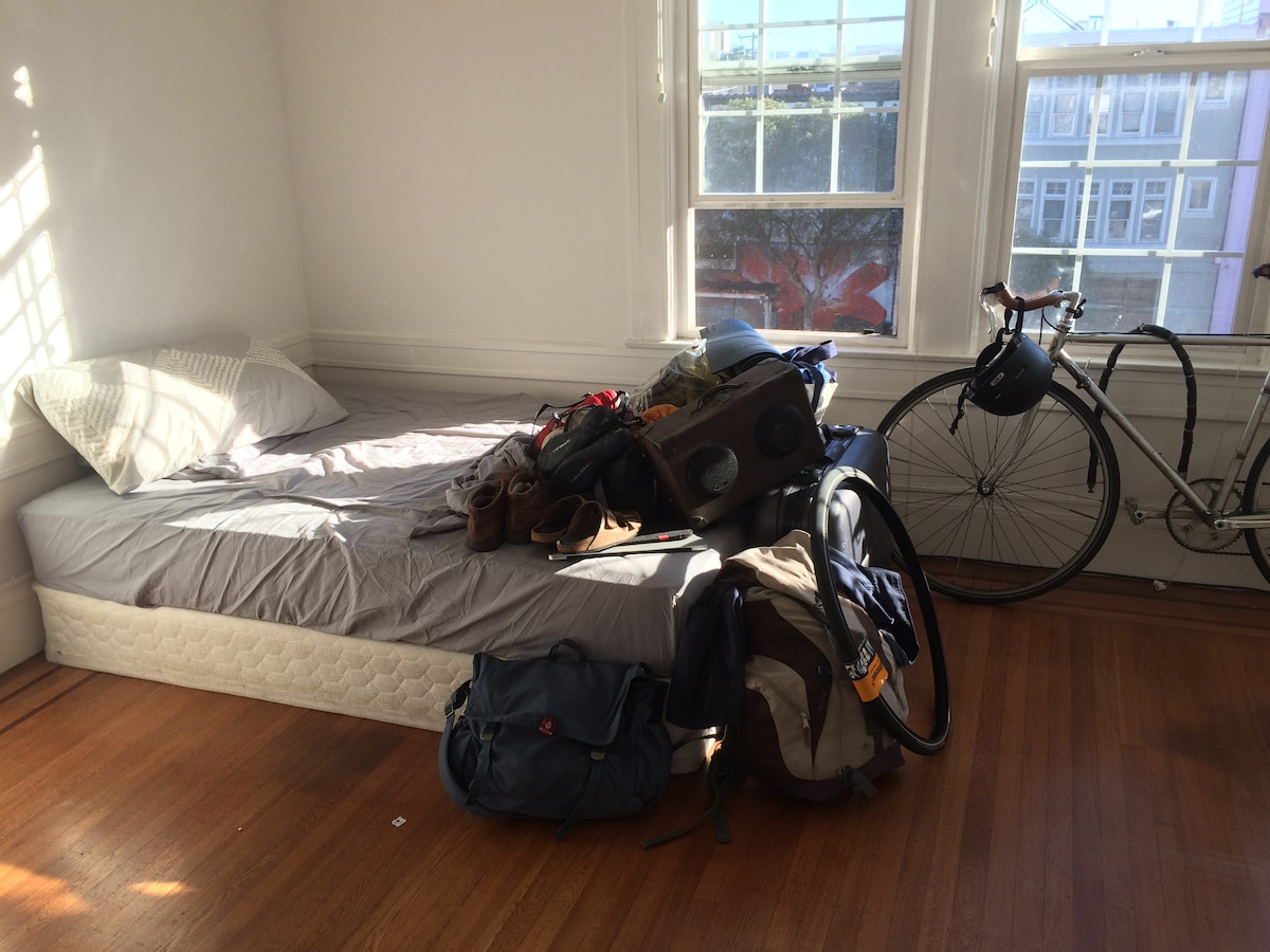 nice room in the upper haight
