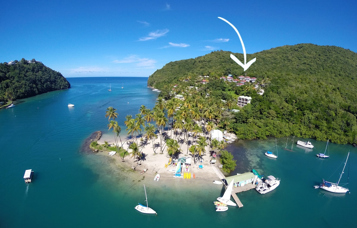 Private Sea Houses of Marigot Bay