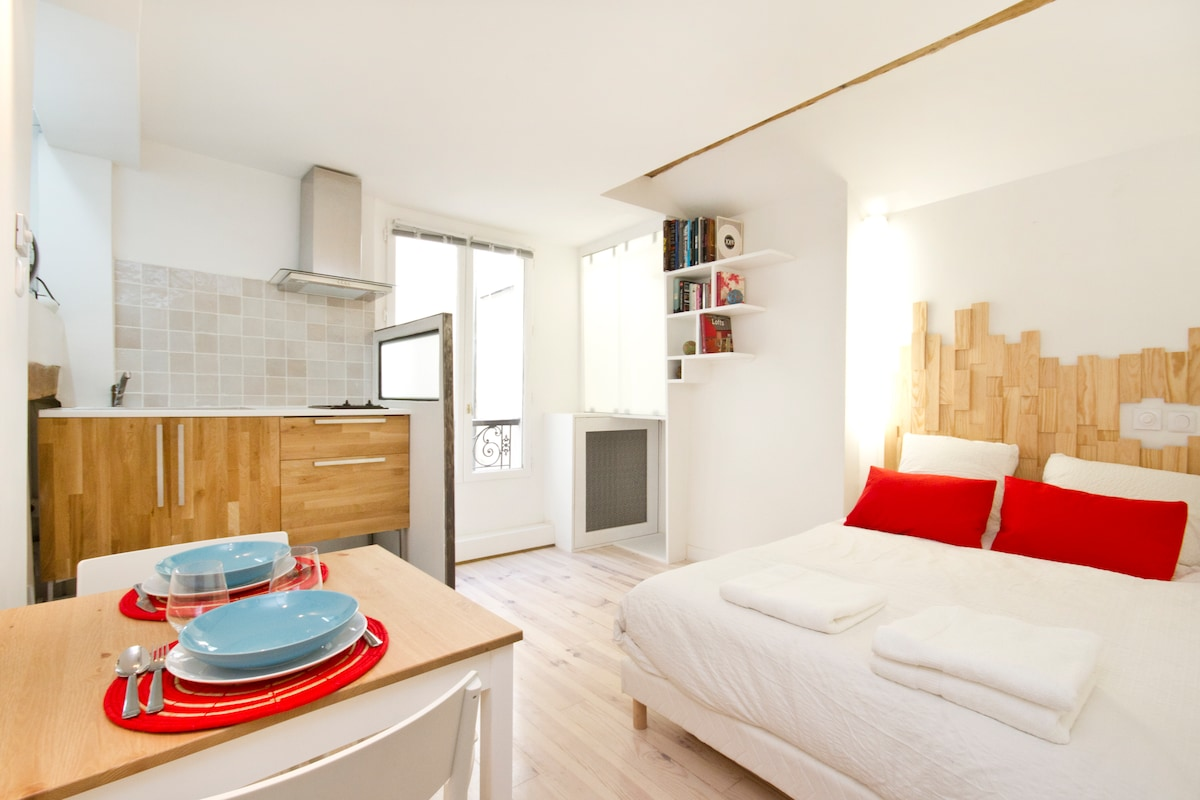 Contempory apartment in Montmartre