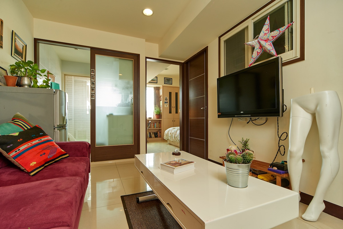 Eclectic and Charming 2 BR in Ximen