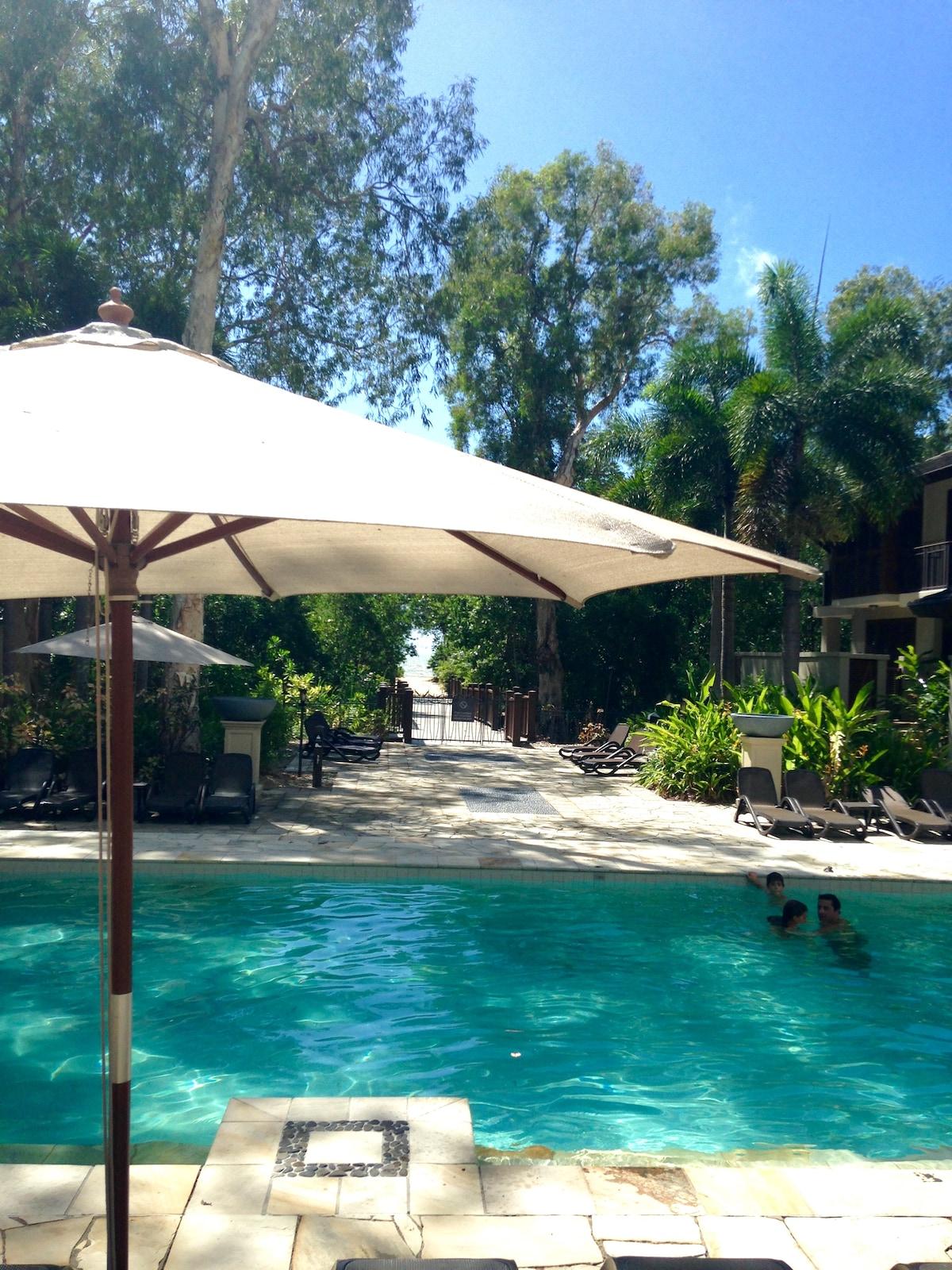 Studio Luxury Sea Temple Resort