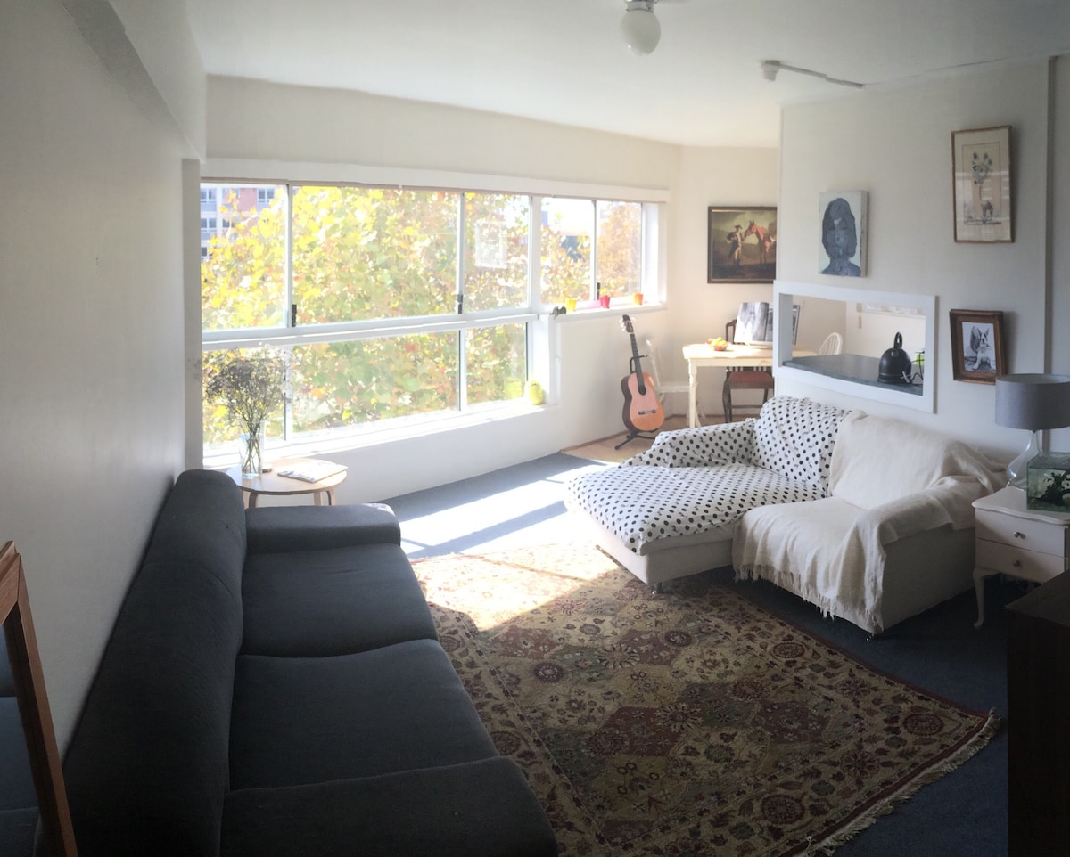 Sunny apartment in perfect location