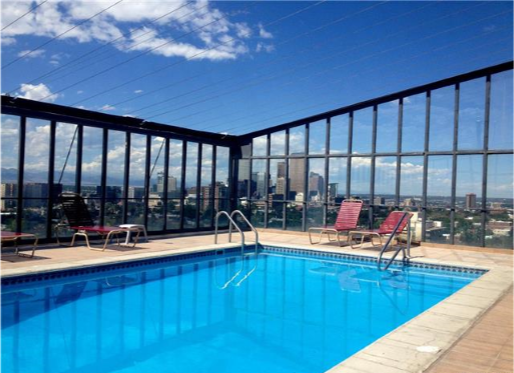 Cap Hill Condo - roof pool, parking