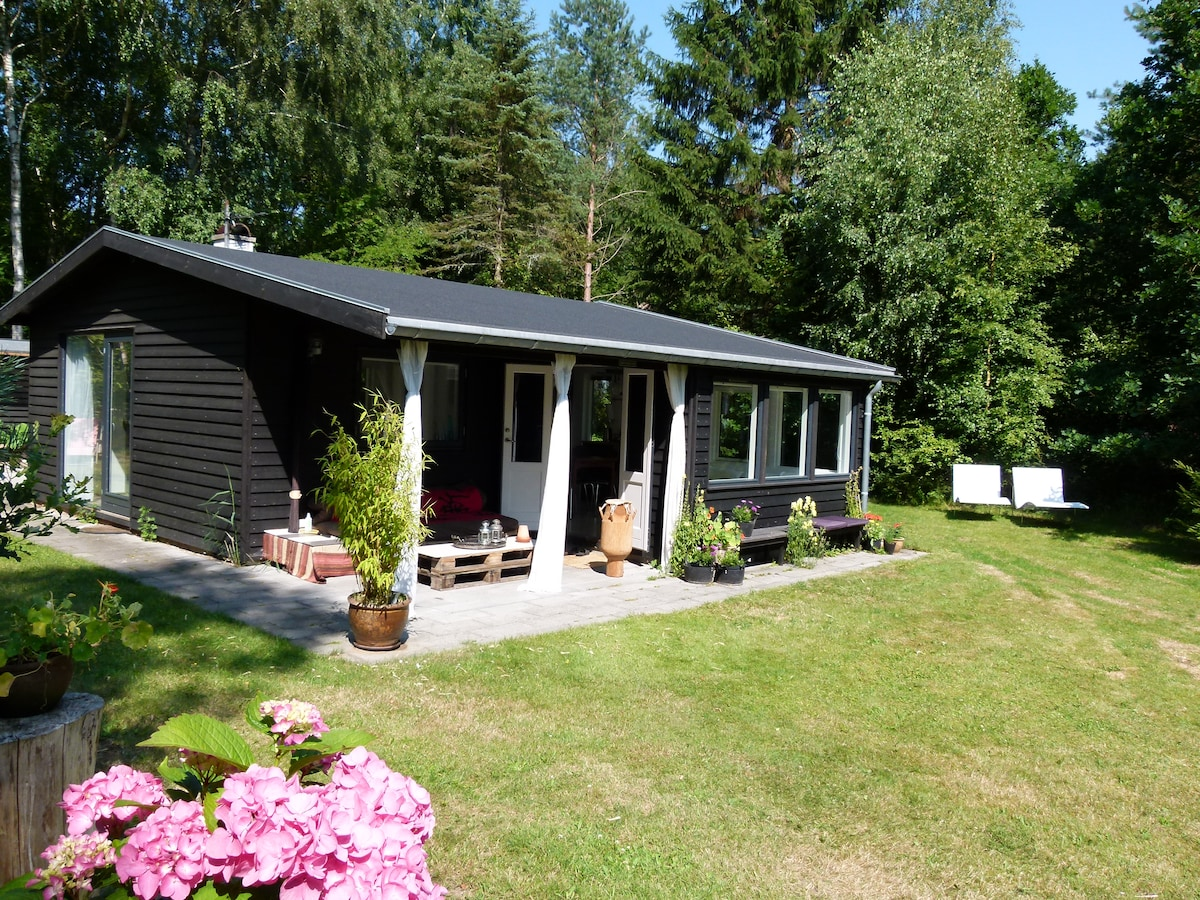 Unike modern cottage 55 km from CPH