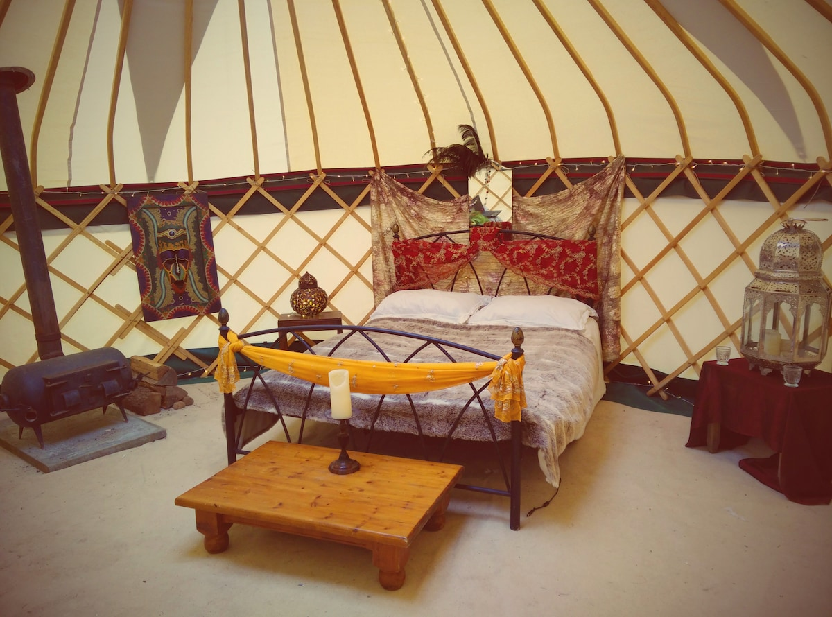 Luxury Yurt in Shropshire Hills