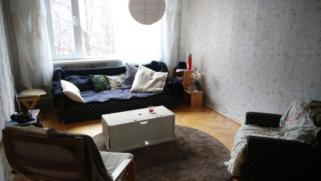 Moscow flat 20 minutes from center