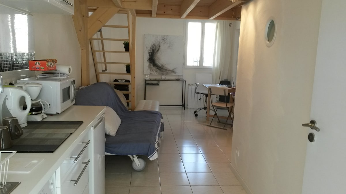 Joli petit appartement, central