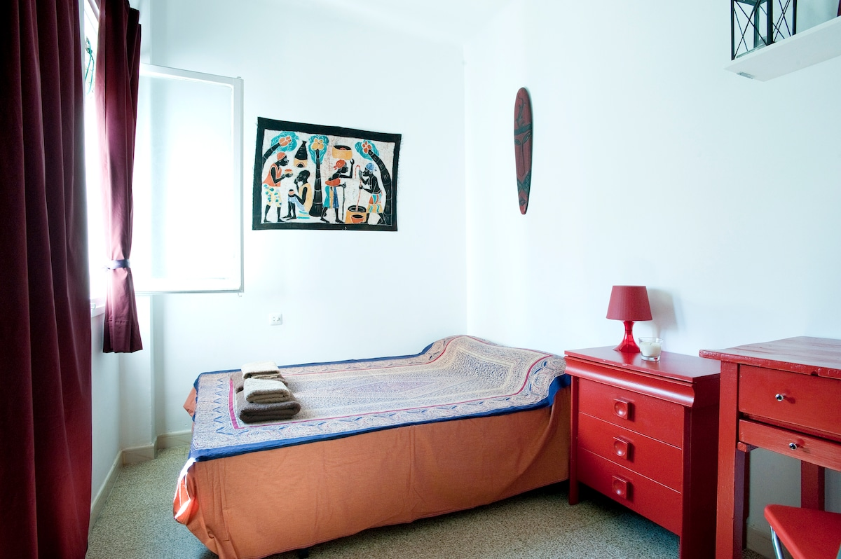YOUR ROOM. THE ROOM LOCATION MAKE IT POSSIBLE THAT THERE YOU HAVE YOUR OWN PRIVACY