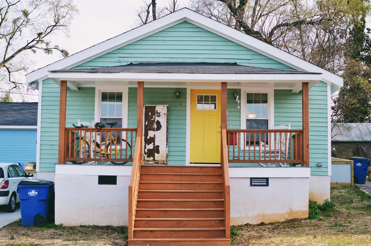 Cozy Downtown Raleigh Bungalow