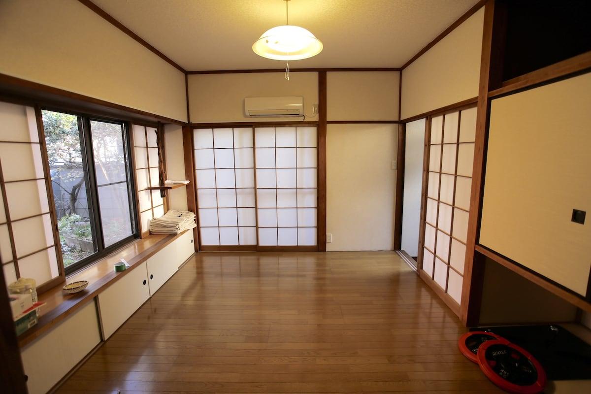古くからある日本家屋 交通の便がすごく良い。