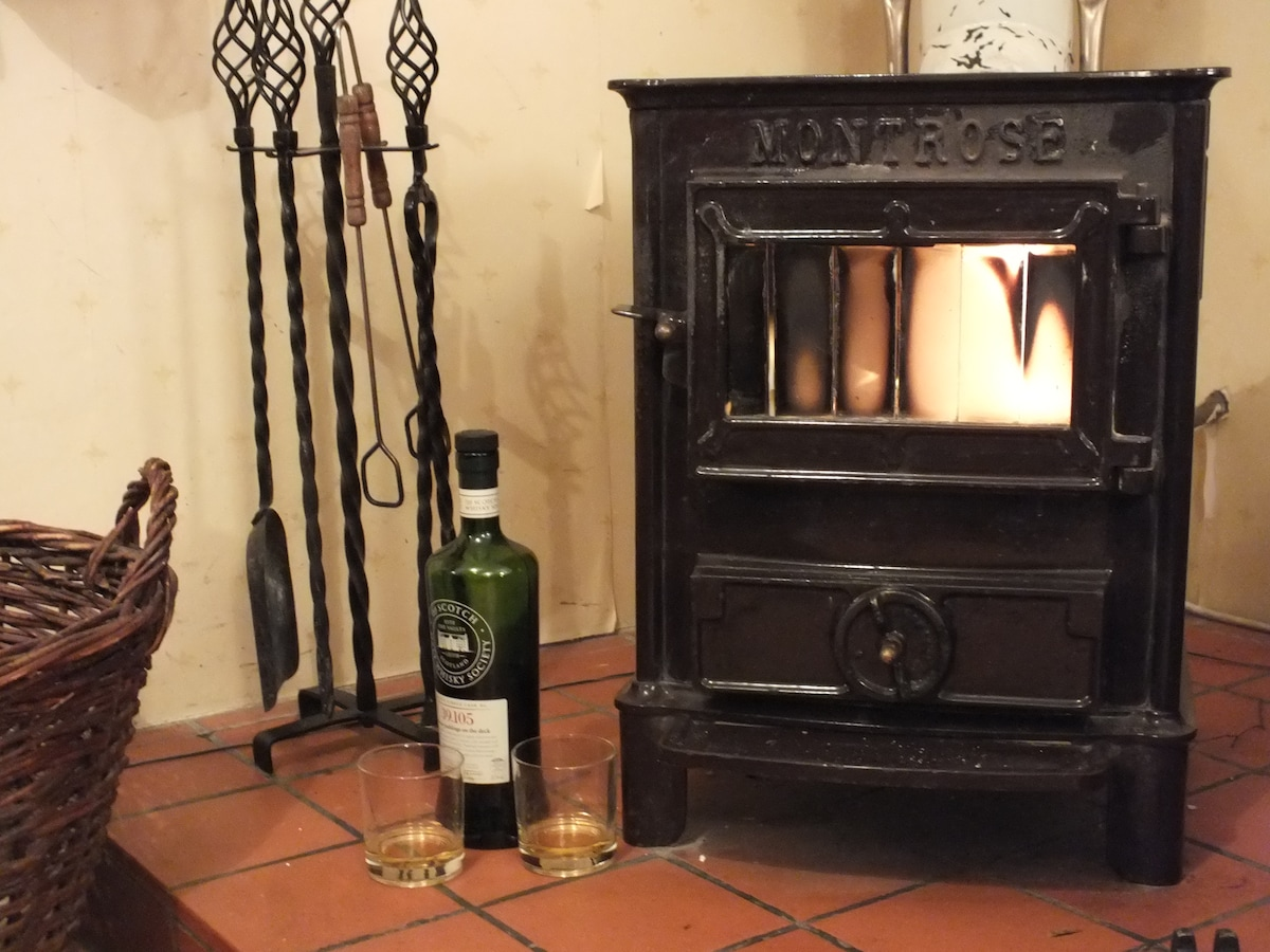 A wee dram by the fire