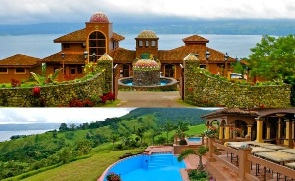 Villa in Lake Arenal.